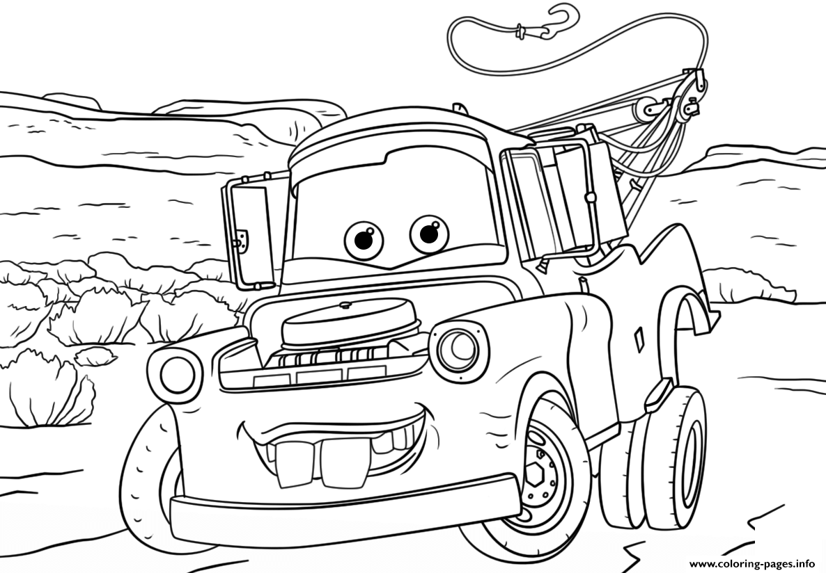 Coloring Pages Of Lightning Mcqueen Ashleyoneillco
