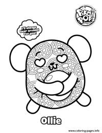 Pikmi Pops Skittle Coloring Pages Printable