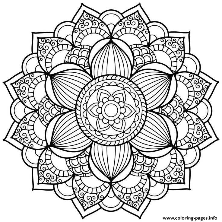Vinilos Decorativos Letras Flower Zentangle For Teens Coloring Pages Printable
