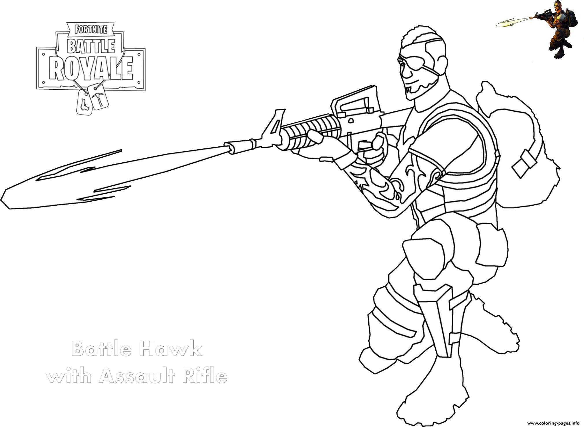 Scar Gun Coloring Pages