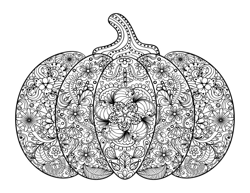 Pumpkin Coloring Pages ⋆ coloringrocks!