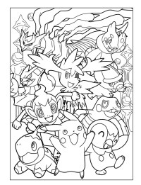 Pokmon Coloring Pages! - coloring.rocks!