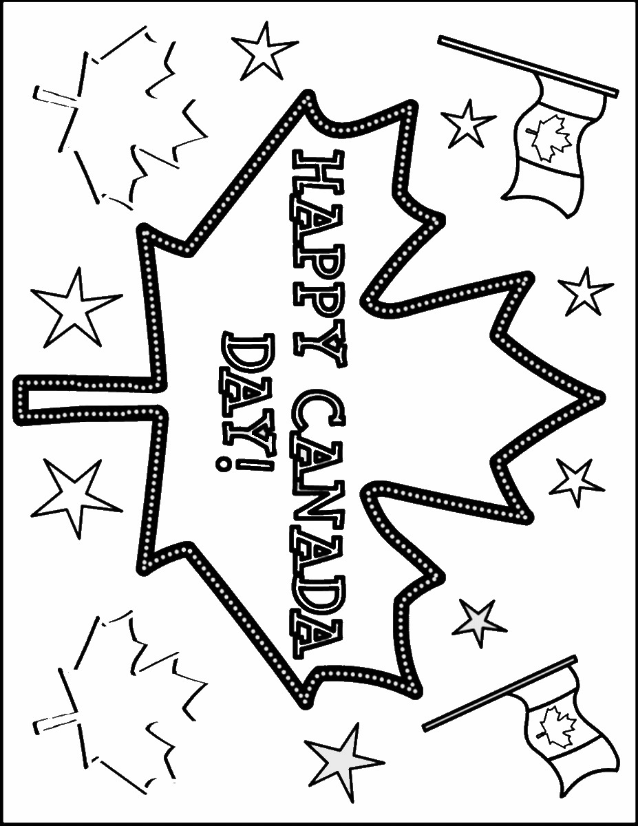 15 canada day pictures to print and color canada_day_coloring14 canada_day_coloring2