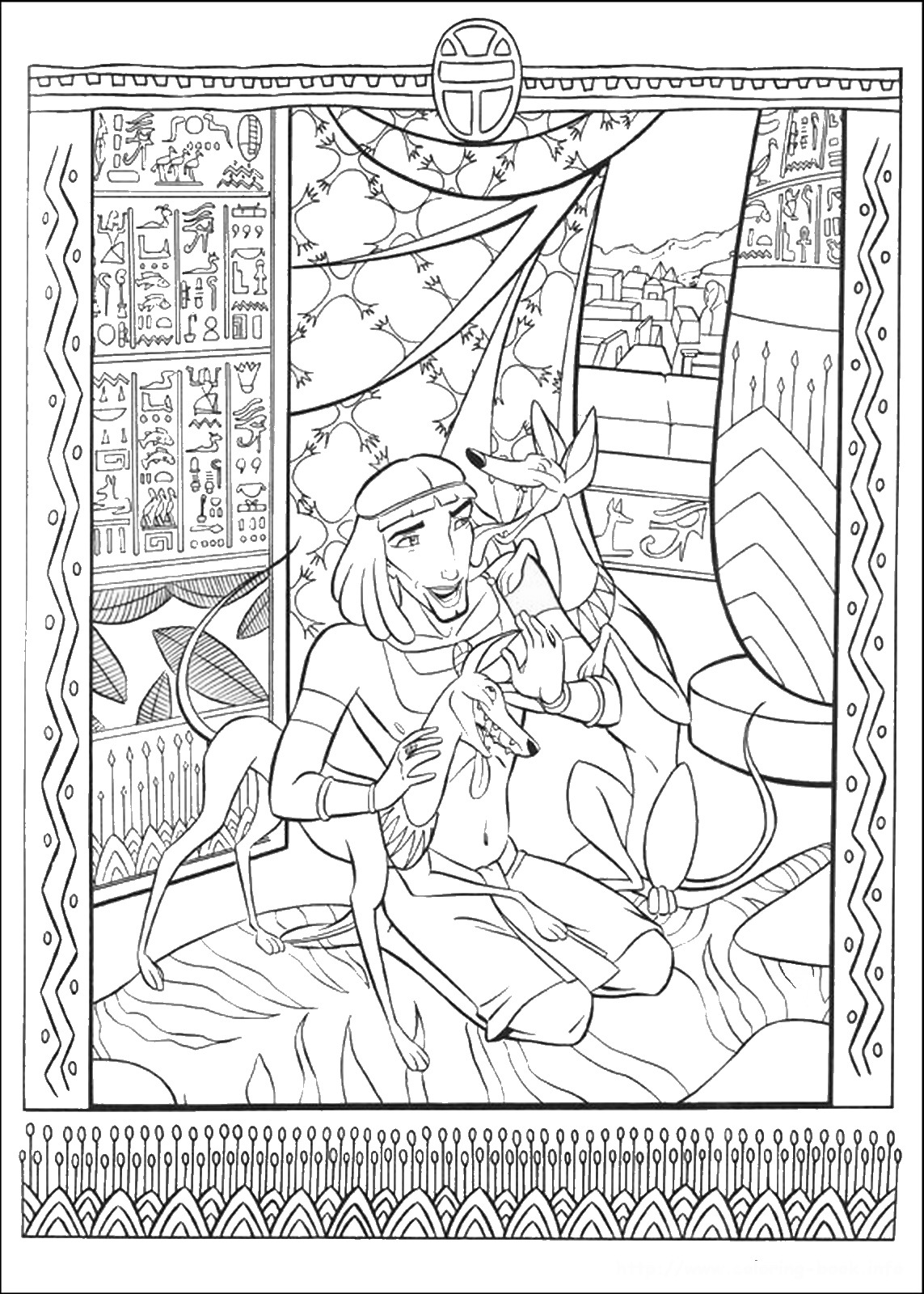 Mandalas Zum Ausdrucken The Prince Of Egypt Coloring Pages