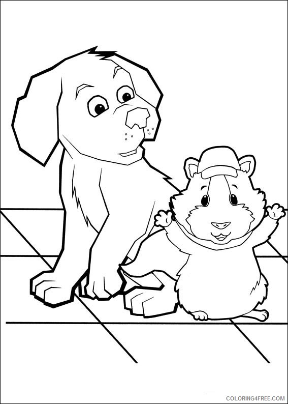 The Wonder Pets Coloring Pages Printable Coloring4free