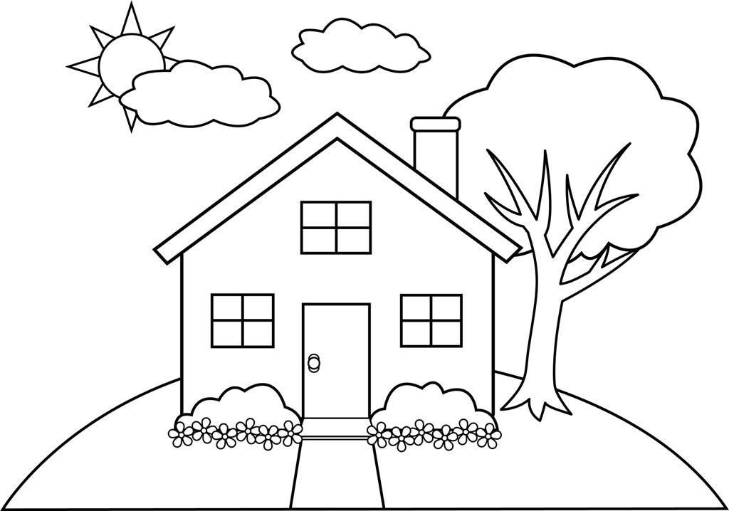 House Coloring Pages Printable Free Coloring Pages - Coloring Home