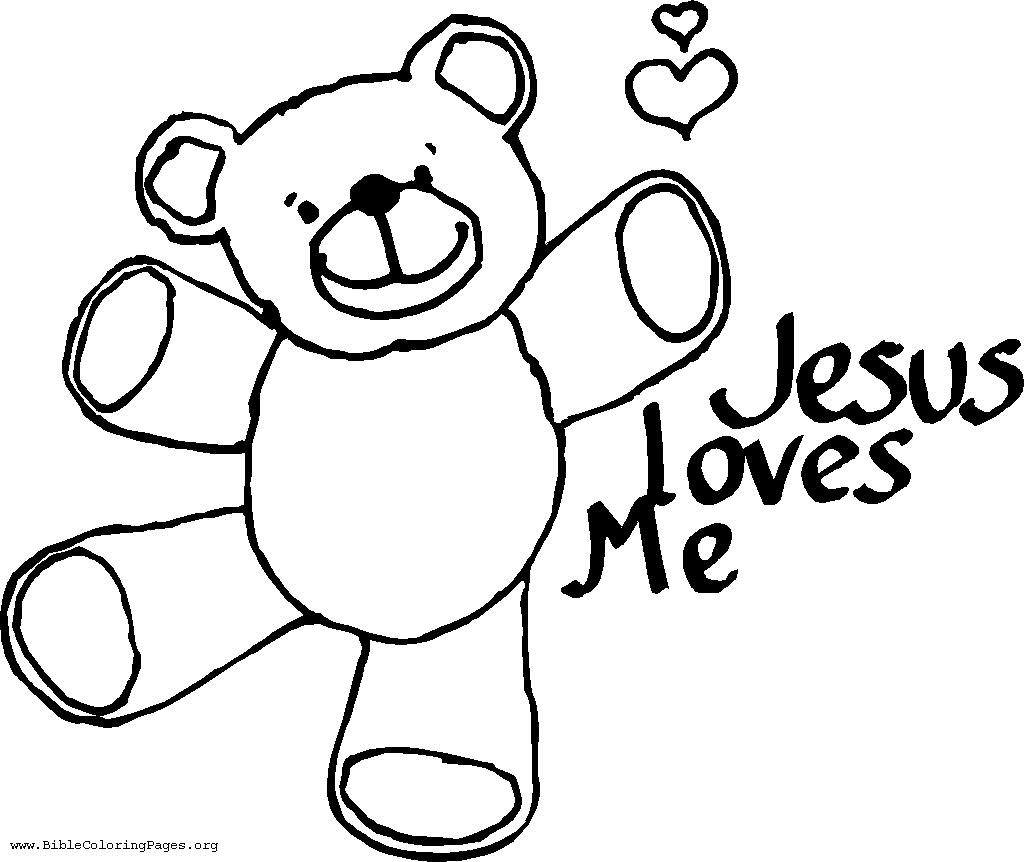 Children's coloring page jesus - Download