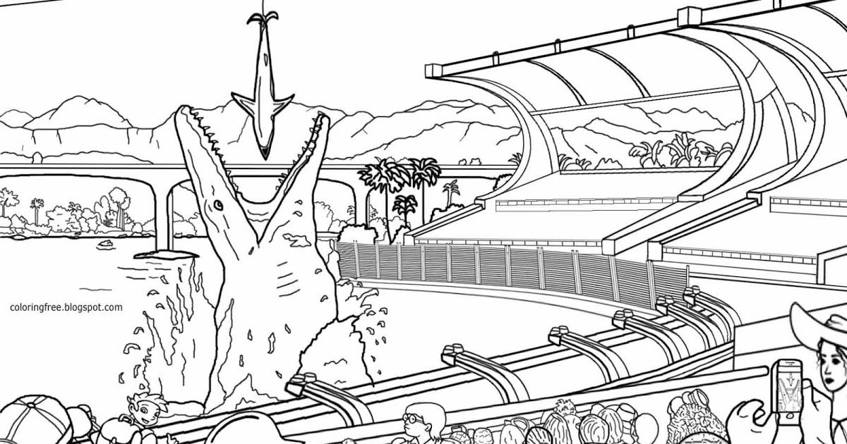 Ecology coloring pages