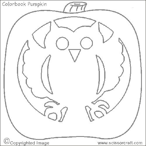 Best Photos Of Printable Owl Pumpkin Pattern - Owl Pumpkin Carving
