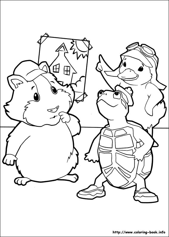Wonder Pets Coloring Pages Printable - Coloring Home