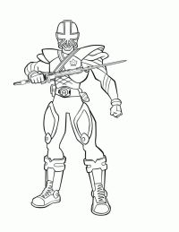 Power Rangers Spd Coloring Pages To Print