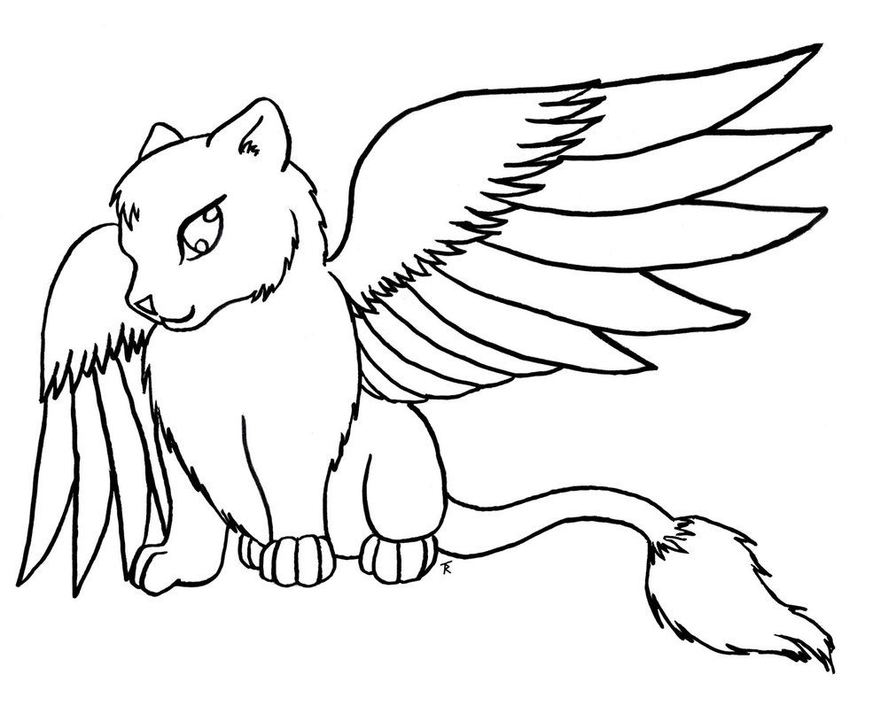 Coloring pages kittens - Printable Coloring Pages Kitty