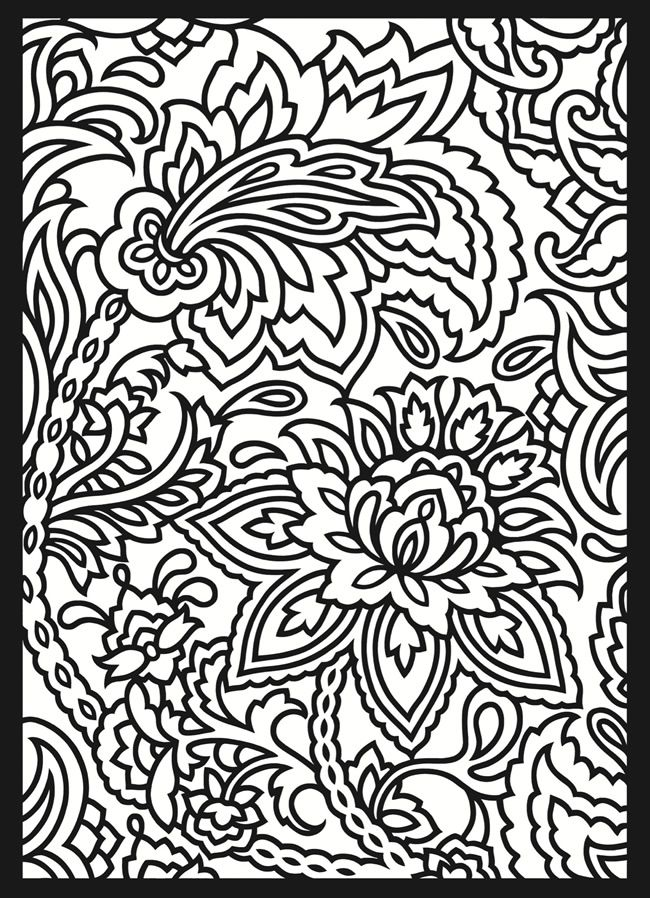Colouring Pages Patterns Printable The Coloring Pages - Coloring Home
