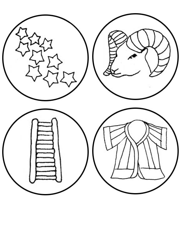 Jesse Tree Coloring Pages - Coloring Home