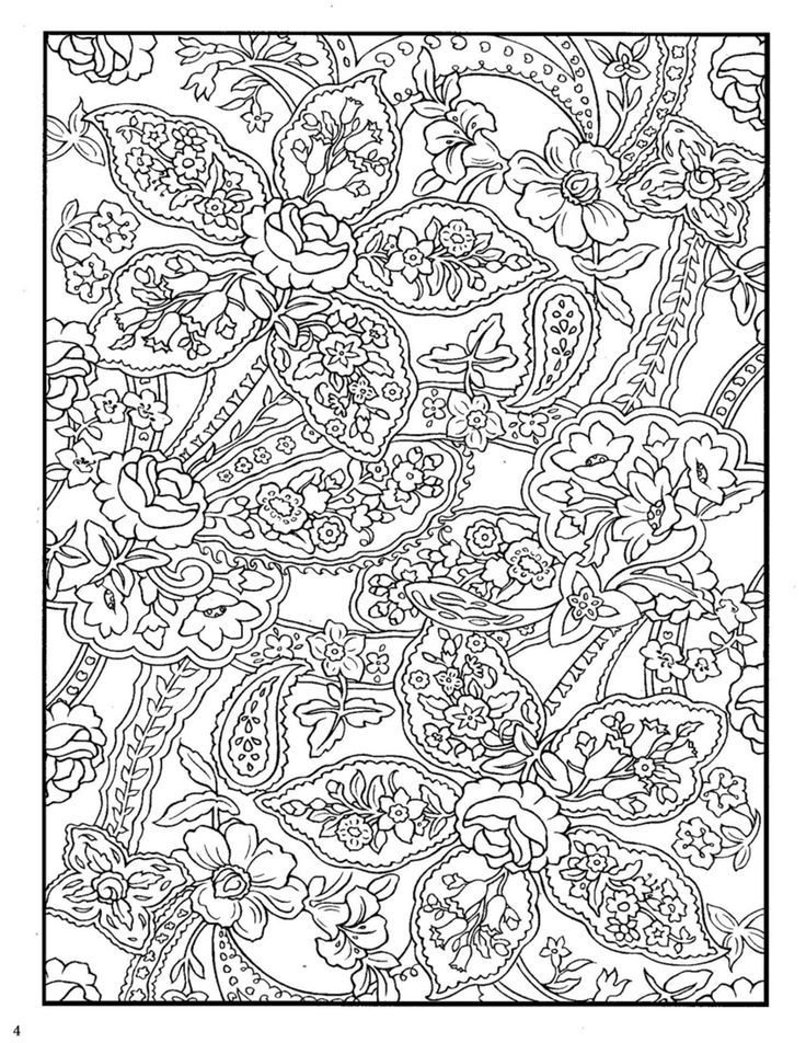 13 Pics Of Zentangle Patterns Free Printable Coloring Pages - Free