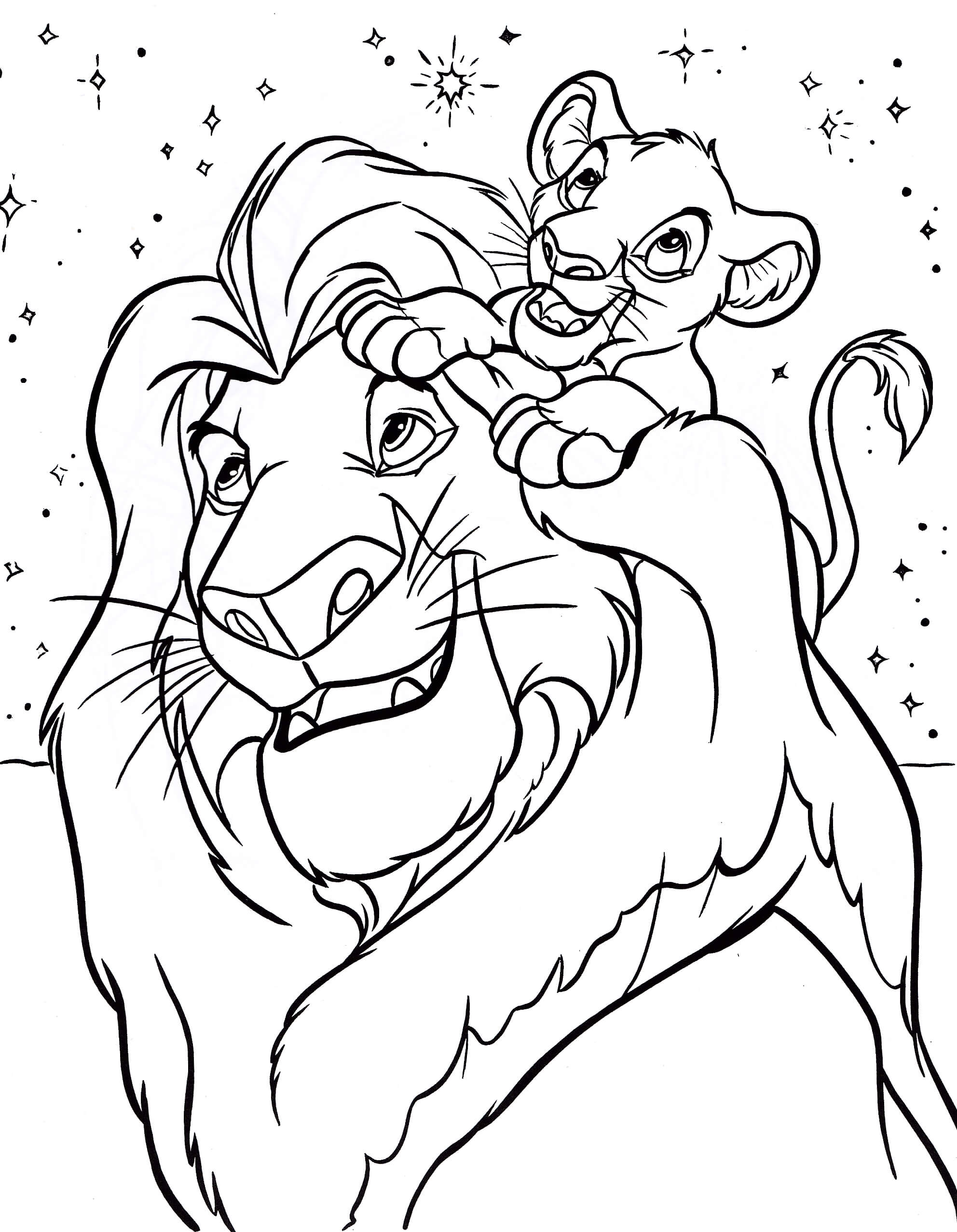 Of disney characters coloring pages for kids and for adults