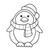Penguin Coloring Pages (11) | Coloring Kids