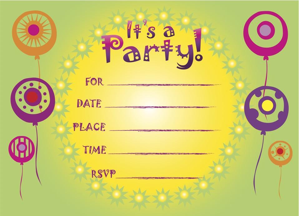 kids party invites online - Solahub-rural