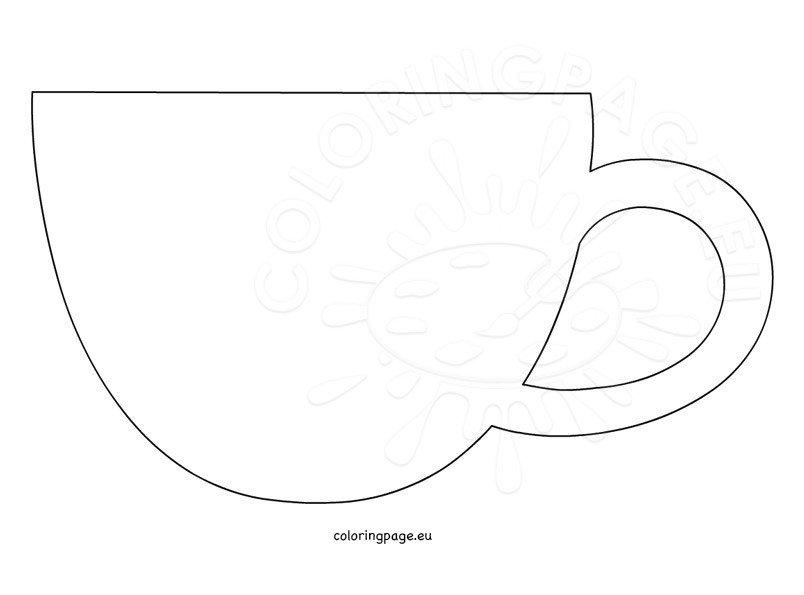 Free Printable Coffee Mug Template Mug Pattern Use The Printable