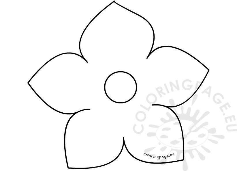 flower template printable - Canasbergdorfbib