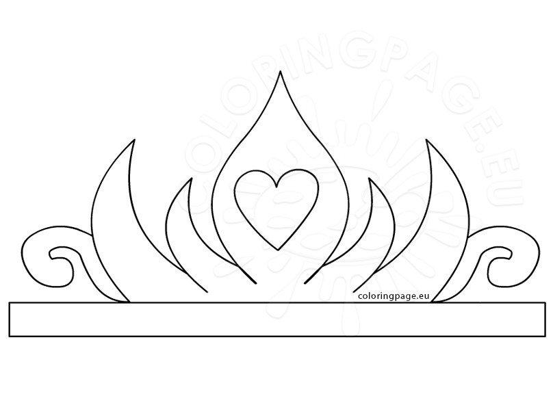 Princess Paper Crown Printable \u2013 Coloring Page