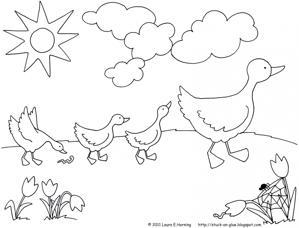 free coloring pages march