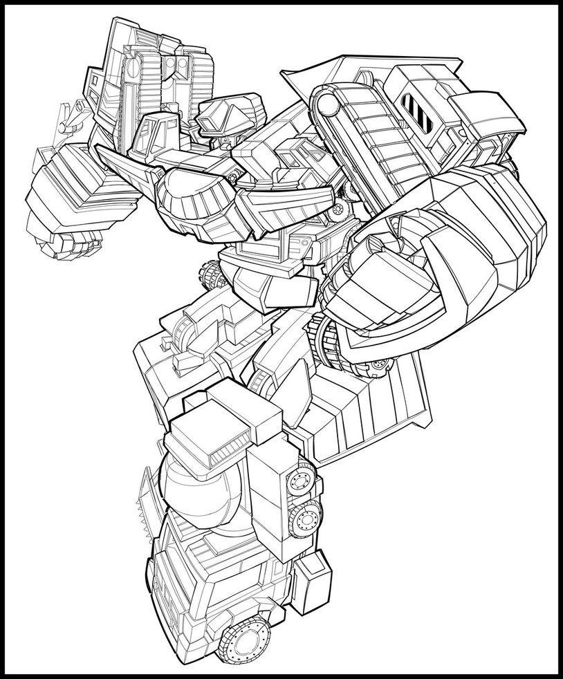 Transformers G1 Coloring Pages - Democraciaejustica