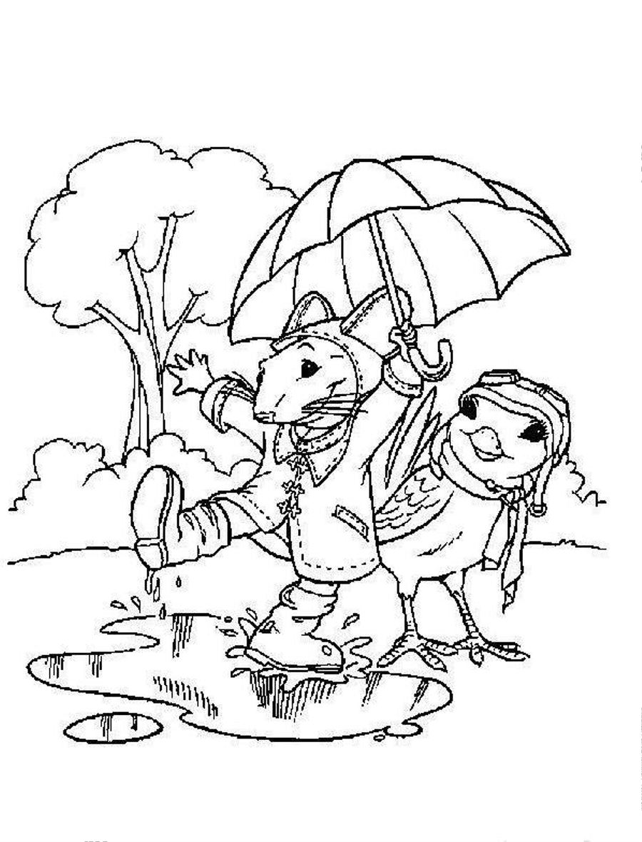 Free rainy day coloring pages to print for kids download print and color