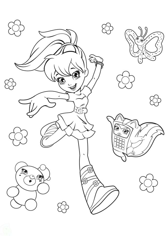 polly pocket coloring pages to download and print for free autopolly pocket coloring pages to download and print for free