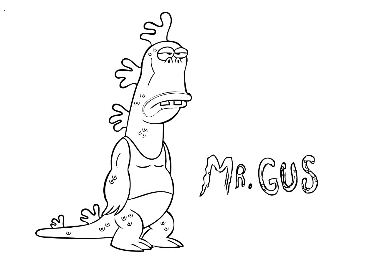 Printable Coloring Pages Uncle Grandpa