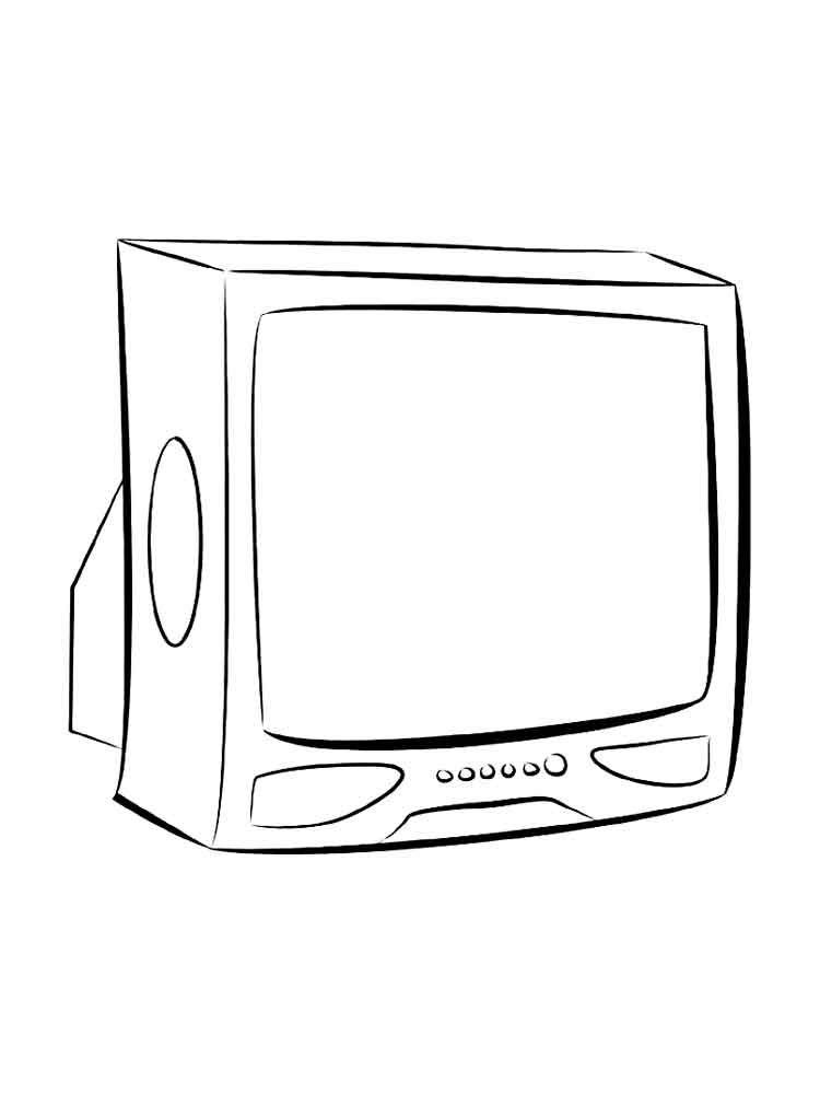 Sofa 5 Letters Tv Coloring Pages To Download And Print For Free