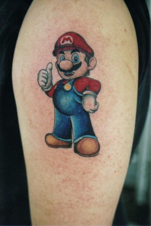 Tattoo Designs Hd Wallpapers 35 Cute Super Mario Tattoo Designs Colorlava