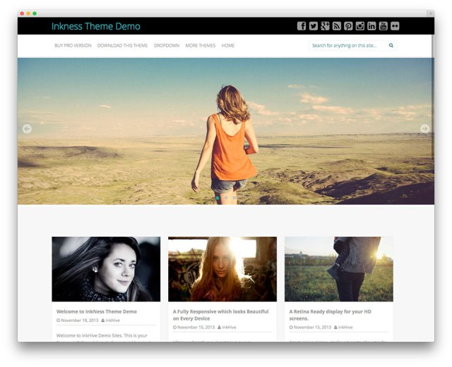 Inkness photography theme