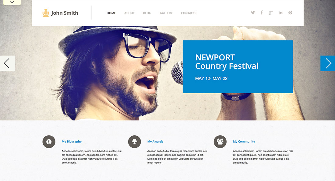 50 Art  Culture WordPress Themes for Spiritual Development 2015