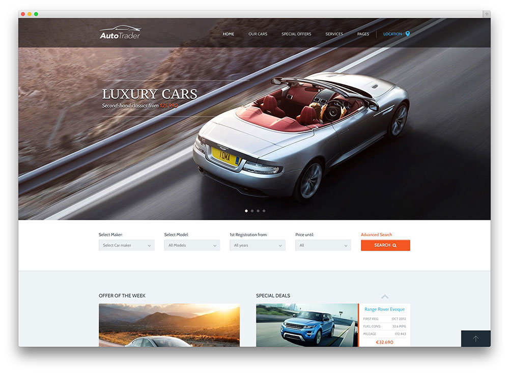 Best Car Dealer WordPress Themes For Automotive Websites 2019 - colorlib