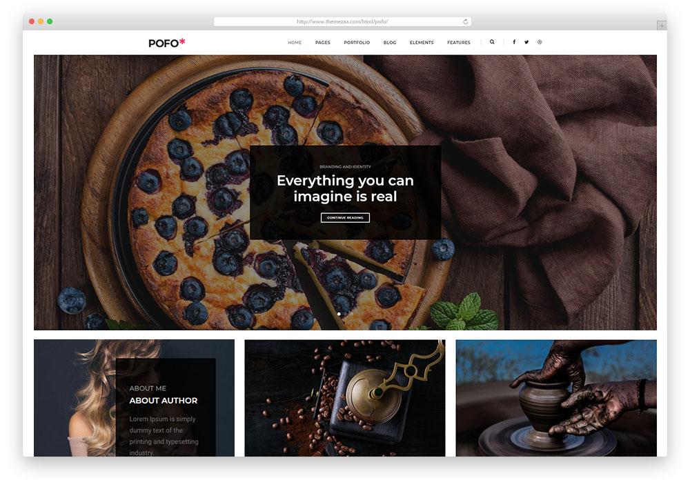 22 Best Responsive HTML5/CSS3 Blog Templates 2019 - Colorlib