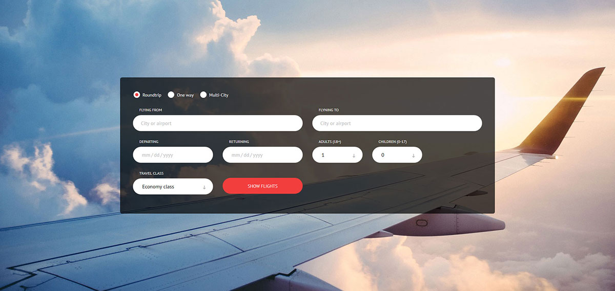 21 Free Booking Form Templates To Help You Serve Better 2019 - Colorlib