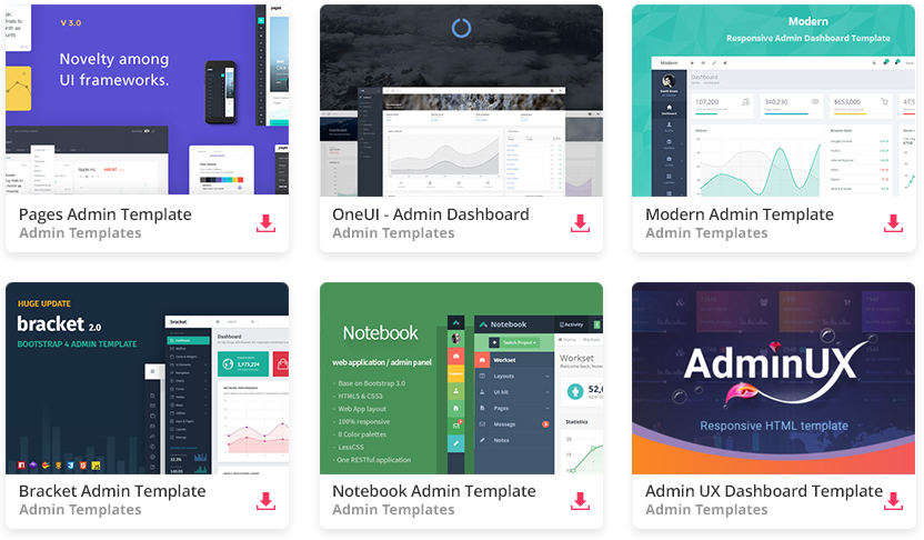 Top 34 Free Responsive HTML5 Admin  Dashboard Templates 2019 - Colorlib