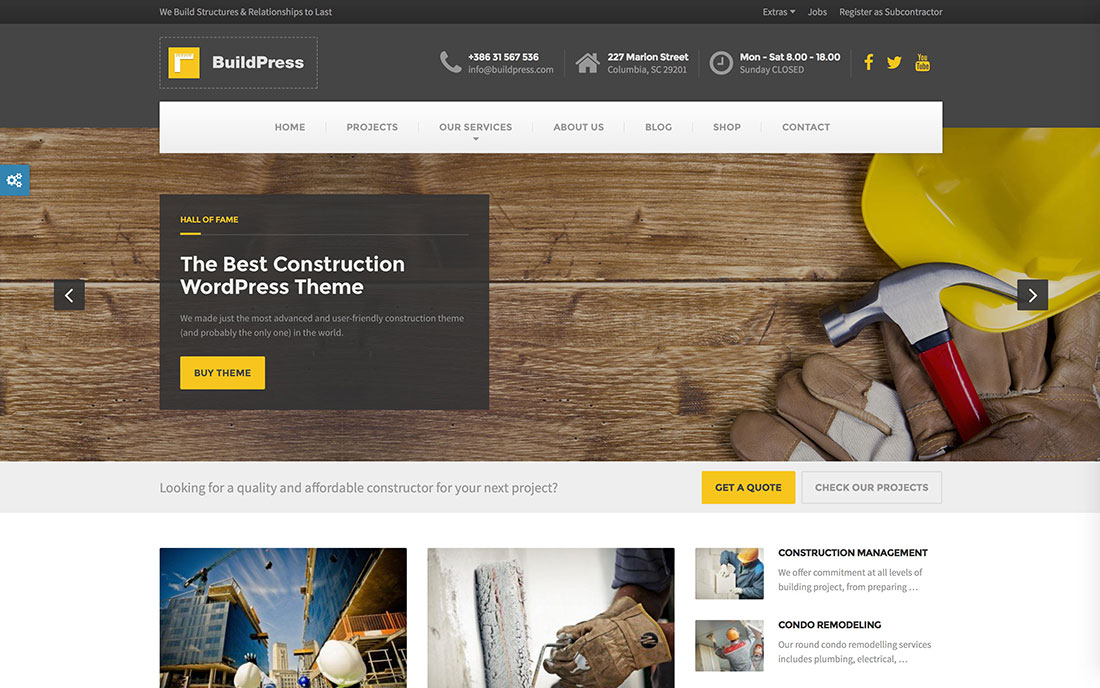 modern resume building website