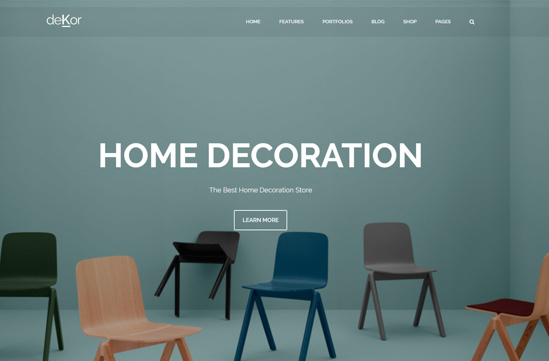 Online Interieur Webshop 24 Best Responsive Interior Design Website Templates 2019