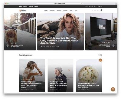 40 Best Fashion Blog & Magazine WordPress Themes 2019 ...