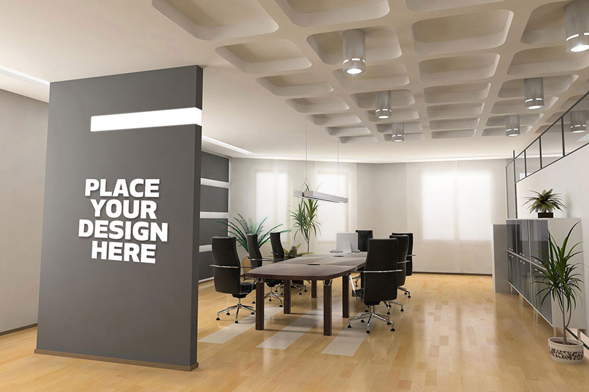 Creative Office Reception Design 26 Best Office Mockups For Branding And Boosting Productivity