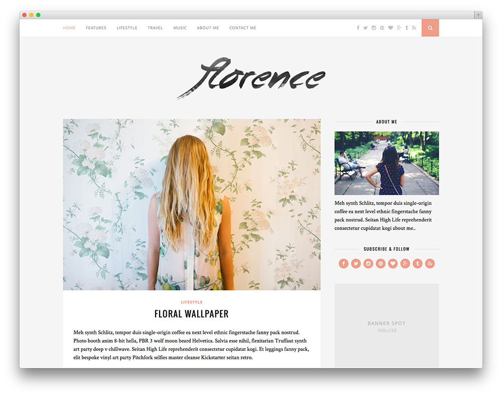 Blog Blogspot Wordpress 42 Best Fashion Blog Magazine Wordpress Themes 2019 Colorlib