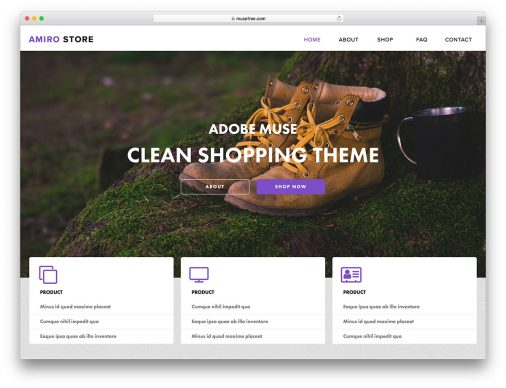 24 Premium Adobe Muse Templates for an Outstanding Website 2019