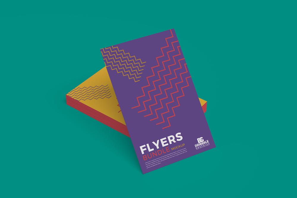 23 High-Quality Free Flyer Mockups PSD 2018 - Colorlib