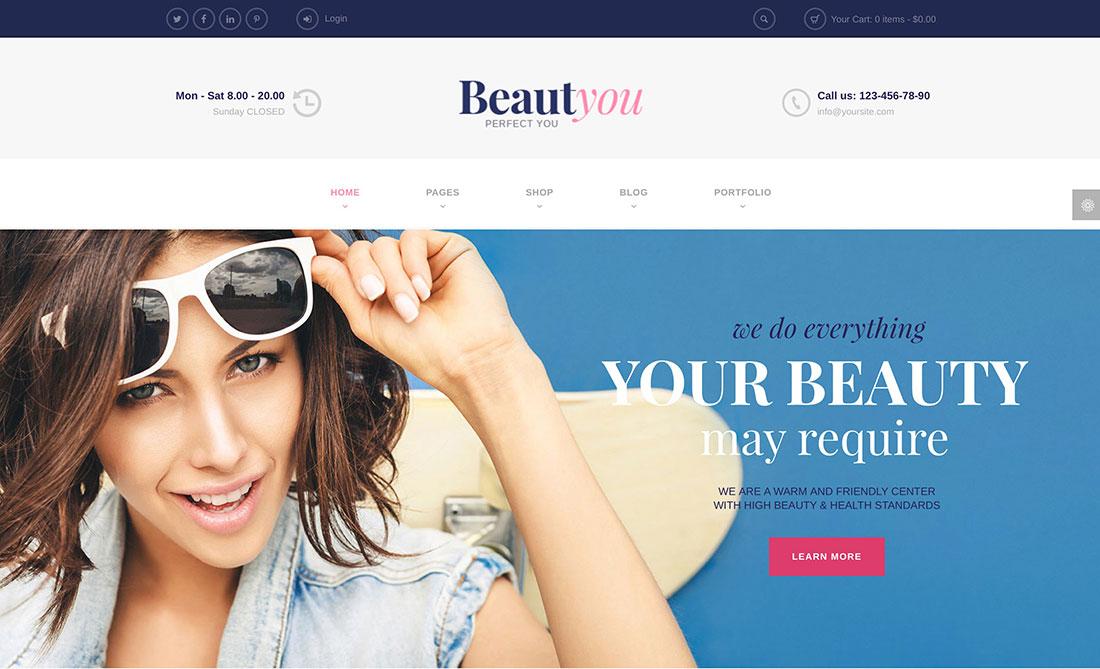 24 Hair Salon and Barber Shop WordPress Themes 2019 - Colorlib