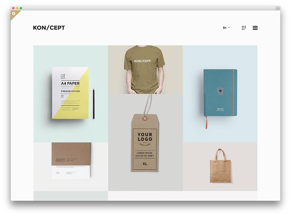 22 Brilliant WordPress Themes for Designers 2019 - colorlib