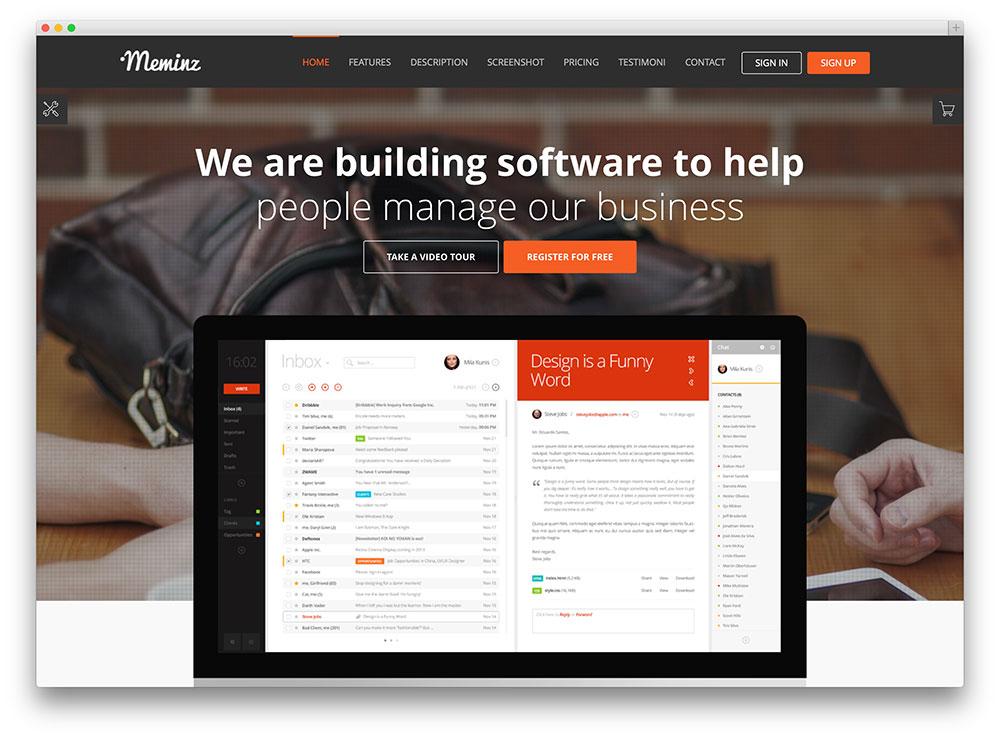 38 Best App  Software Showcase WordPress Themes 2019 - Colorlib