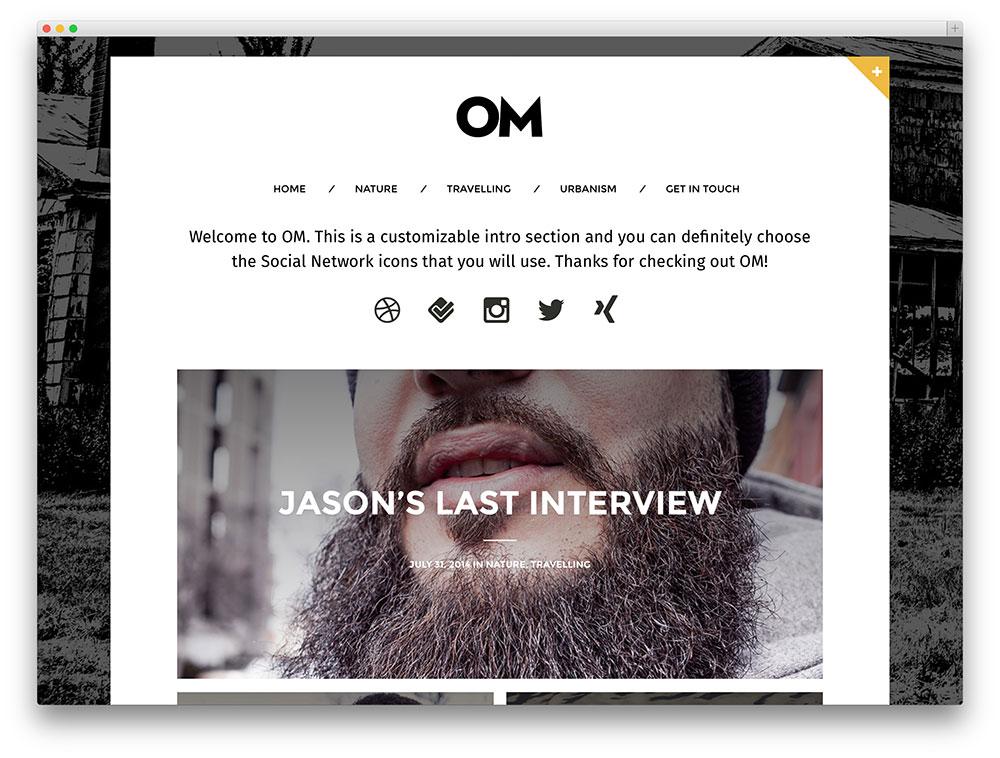 innovation-lifestyle-wordpress-blog-template Blog Web Design - build the perfect resume
