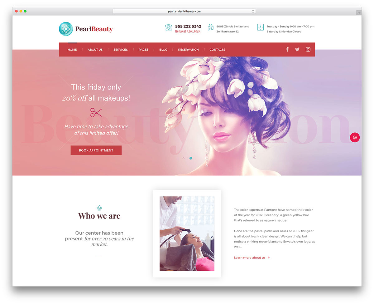 Salon But Promo 35 Beautiful Spa Beauty Salon Wordpress Themes 2019 Colorlib
